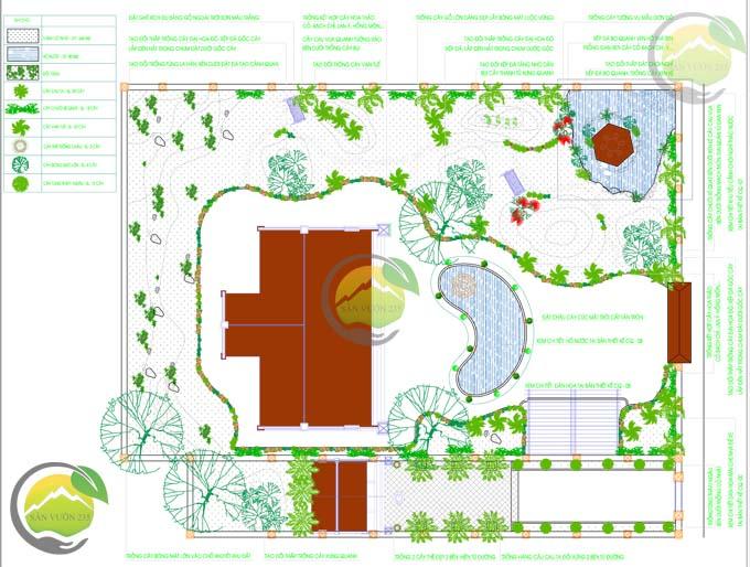 Mẫu thiết kế sân vườn nhà thờ họ 000