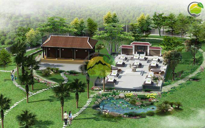 Mẫu quy hoạch thiết kế nhà vườn nghỉ dưỡng 7