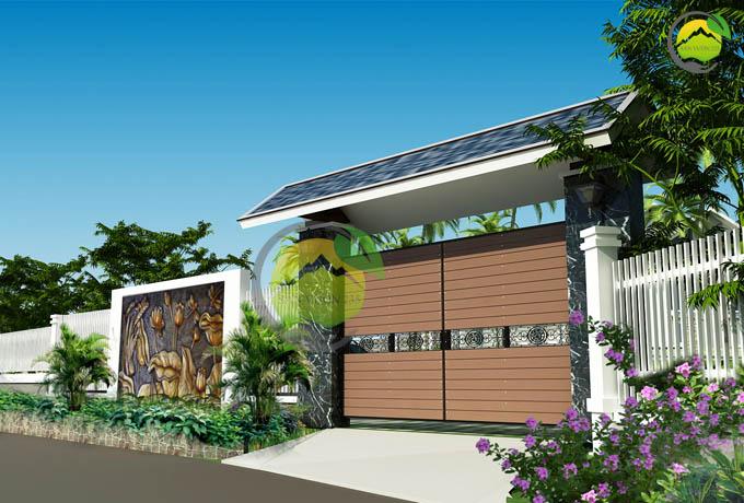 Mẫu quy hoạch thiết kế nhà vườn nghỉ dưỡng 6