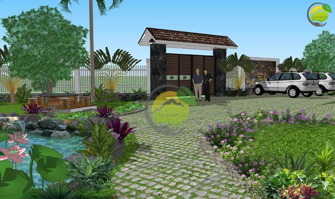 Mẫu quy hoạch thiết kế nhà vườn nghỉ dưỡng 5