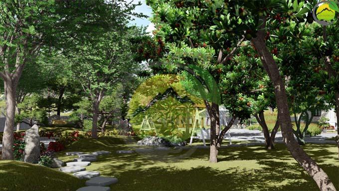 Mẫu thiết kế nhà vườn 1 tầng tại Sơn La 4