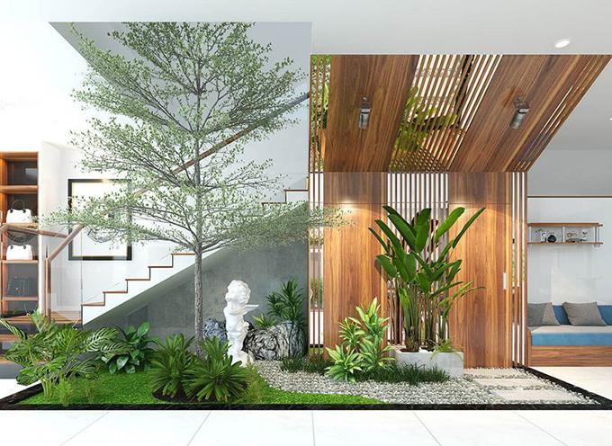 Thiết kế tiểu cảnh sân vườn 8