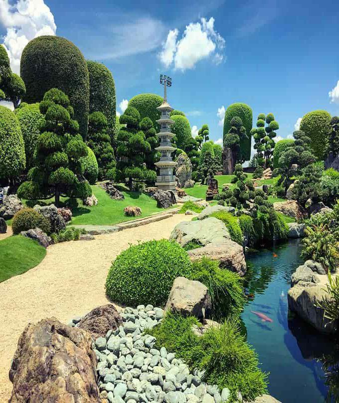 Thiết kế tiểu cảnh sân vườn 52