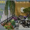 Mẫu thiết kế tiểu cảnh vườn sân thượng tại Ba Đình Hà Nội 0
