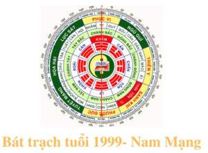 Bát trạch tuổi 1999 Nam mạng