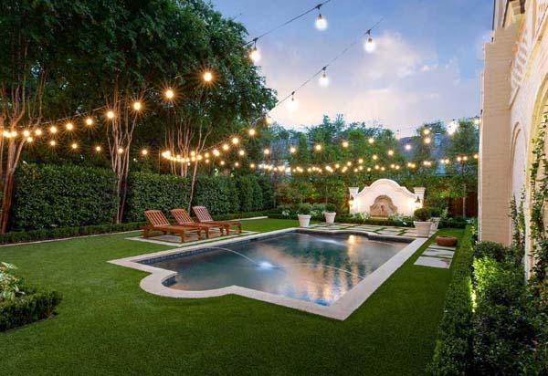 phong cách thiết kế sân vườn châu âu