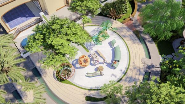 Phong cách thiết kế sân vườn hiện đại