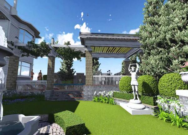 phong cách thiết kế sân vườn tây nam mỹ