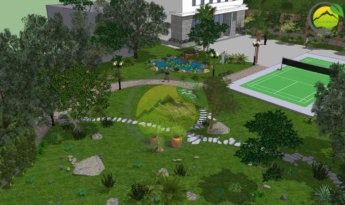quy hoạch cảnh quan khu nghỉ dưỡng