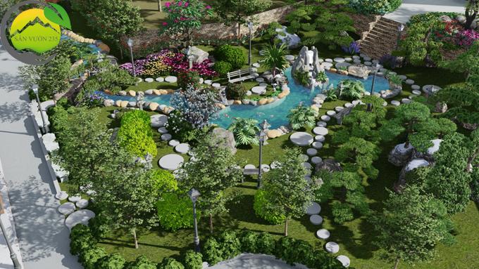 quy hoạch cảnh quan sân vườn đẹp