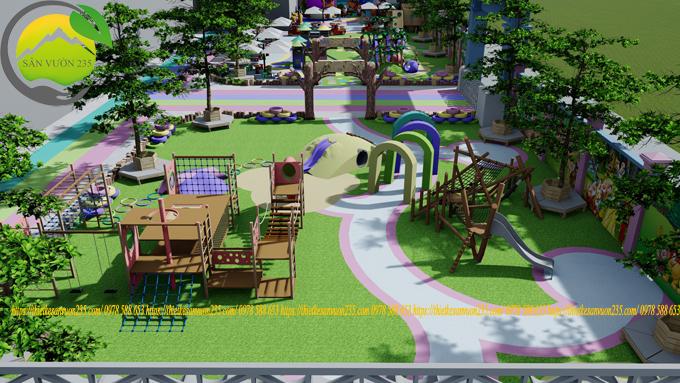 quy hoạch cảnh quan sân vườn