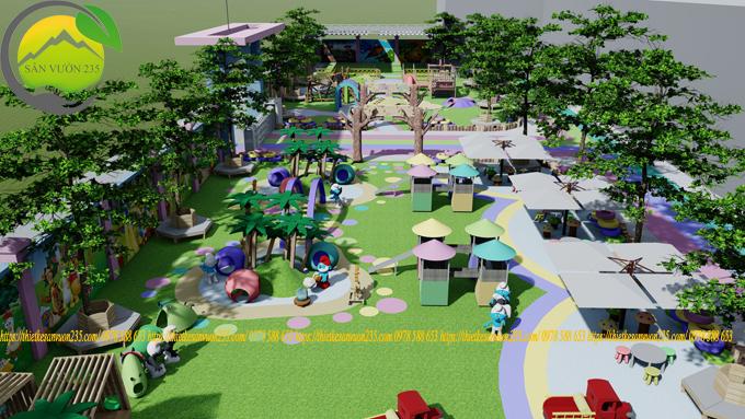 Thiết kế cảnh quan khu vui chơi