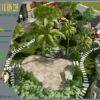 Mẫu thiết kế sân vườn nhà hàng tại Hà Nam