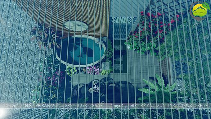 Mẫu thiết kế tiểu cảnh sân thượng tại Thanh Xuân - Hà Nội 12