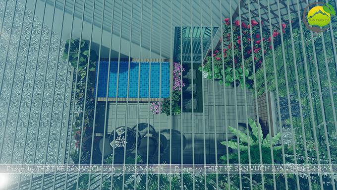 Mẫu thiết kế tiểu cảnh sân thượng tại Thanh Xuân - Hà Nội 7