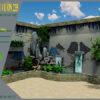Mẫu thiết kế tiểu cảnh trang trí tường tại Sai Gòn