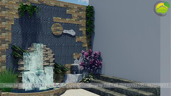 Mẫu thiết kế tiểu cảnh tranh tường tại Sài Gòn 4