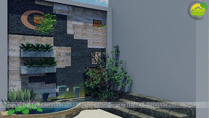 Mẫu thiết kế tiểu cảnh tranh tường tại Sài Gòn 7