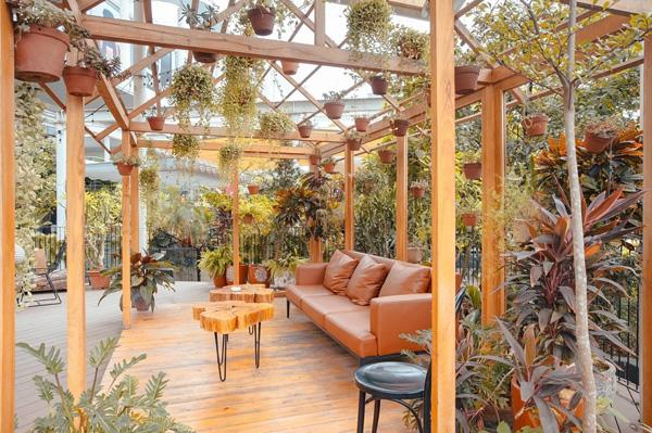 Mẫu quán cafe sân vườn đẹp