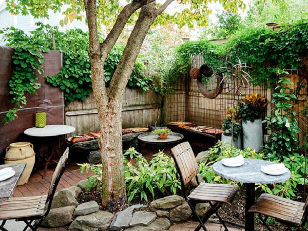 Thiết kế cà phê sân vườn