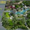 Mẫu thiết kế sân vườn nghỉ dưỡng 10000m2 tại Ba Vì - Hà Nội